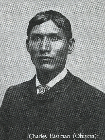 Charles Eastman, Dartmouth College, class of 1887