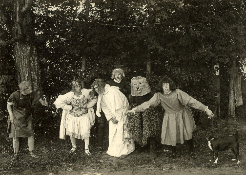 A Midsummer Night's Dream was performed in the Campus Woods by the Class of 1904.