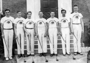 KUA's first golf team formed in 1937-38.
