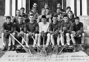 The 1939 KUA lacrosse team.