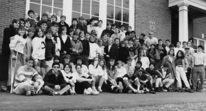 These seniors from the class of 1989, graduated 25 years ago and will be back on The Hilltop for their celebrations this coming June. They look very happy and relaxed in their senior class photograph.