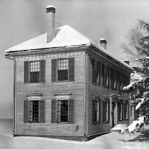 Abner Forbes House in Windsor, VT, where a council of churchmen created Kimball Union in October 1812.
