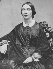 Miss Mary Bates, a teacher, 1851-1859 and Principal of the Female Department, 1859-1863.