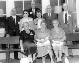 A few members of the Class of 1915 returned to Kimball Union in 1965 for their 50th reunion.