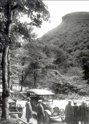 The Great Stone Face as seen from the road C. 1920s