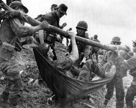Vn. injured soldier