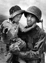 Vn soldier with boy