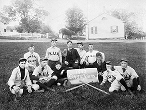 The Baseball Team 1893